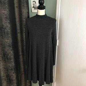 Lou & Grey | Mock Neck Sweater Dress S